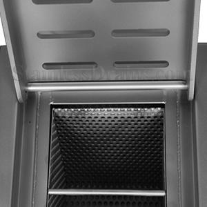 Floor Sink Hinged Slotted Grate