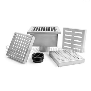 Floor Sink with Grates