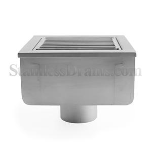 Floor Sink with Bar Grate