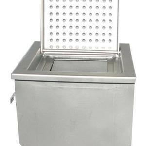 Floor Sink with Hinged Perforated Grate