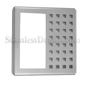 replacement half perforated drain grate