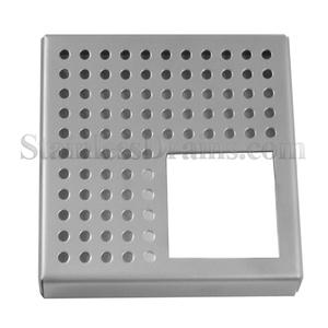 Quarted Perforated Square Grate