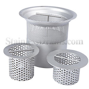 stainless steel sediment basket