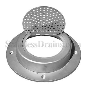 304 or 316 ss down spot drain cover