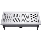 stainless steel drain grate