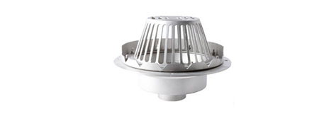 Stainless Steel Roof Drains | Commercial Drainage Products