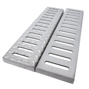 slotted drain grate