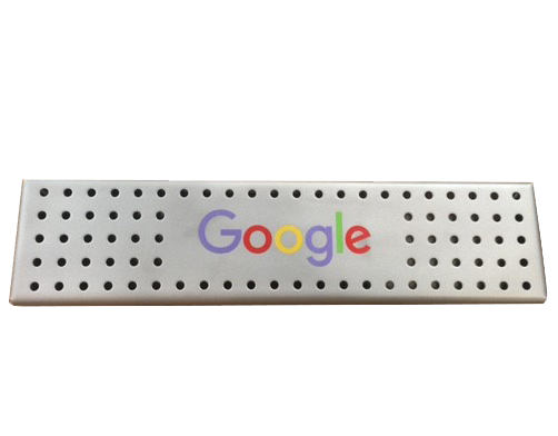Custom Colored Drain for Google